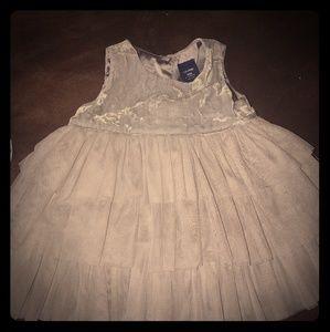 Barely worn Baby Gap Velvet Tulle Dress 🎀